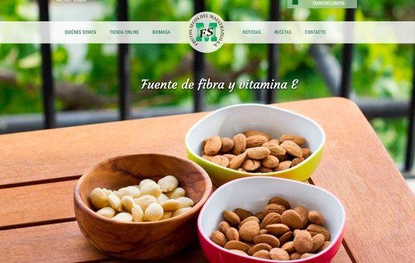 Página principal de web de Frusema